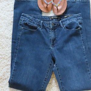 Kim Kardashian Curvy Straight Jeans